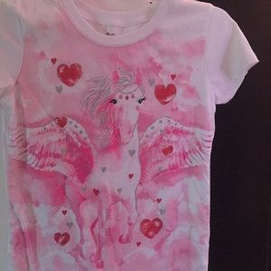 Other - A pink cute valentine day shirt!